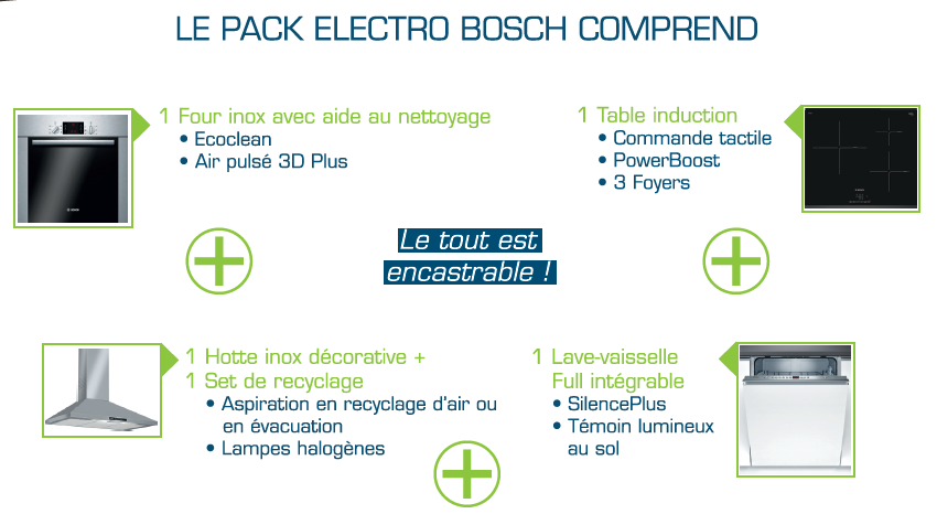 Pack Electro Bosch Cubea